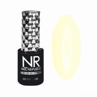 Nail Republic, ART TOP GLOSS №25 PROVENCE - топ глянец, Нежное солнце, (10мл) - 448631