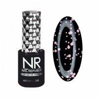 Nail Republic, Топ DIAMOND с шиммером №6, (10мл) - 442172