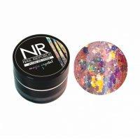 Nail Republic, Гель-краска MAGIC CRISTAL №1 с блестками (7 гр) - 444152