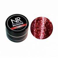 Nail Republic, Гель-краска мерцающая №2, Red (7 гр) - 442936