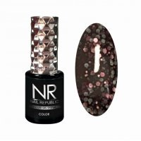 Nail Republic, Гель-лак Stone crumb, Вечерняя мгла, (10мл), №712  - 446194