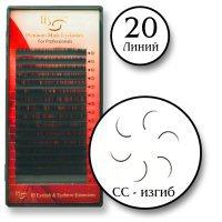 Ресницы норка загиб СС-0.05, длинна 10мм. 20 линий I-beauty премиум. 122205