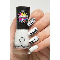 Dance Legend DL, Лак для стемпинга, #03 белый - 605832