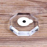 Наклейки на камень виниловые для клея, большые 6шт 018359