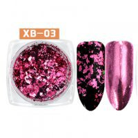 Хлопья Юки XB-03 Розово-малиновый 028754