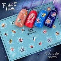 Слайдер дизайн FN 3D crystal №09 - 039613