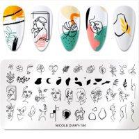 Пластина для стемпинга Nicole Diary-184-616319