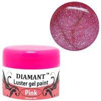 DIAMANT, Зеркальный гель Розовый 101378