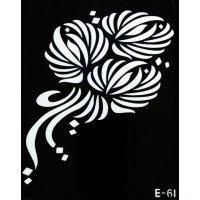 Tattoo Mold - Трафарет для тату №E-61 044088