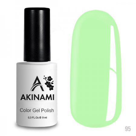 Akinami Color Gel Polish 095 Green Flash 220411