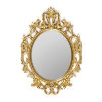 Зеркало, винтажное, овальное, золото 53*37cm - 615886