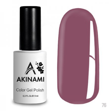 Akinami Color Gel Polish 076 Pink Violet 220220