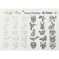 Слдайдер дизайн 3D-02 Lucky Rose Clube 045959