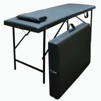 Кушетка, массажный стол LX5, черная - 604378