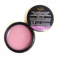 Oпция, Камуфлирующий самовыравнивающийся гель,темно-розовый холодный тон №4,15мл - 379209