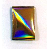 Foil Nails big - Фольга Золото светлый хамелеон №4S-34 032825