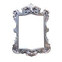 Зеркало, винтажное, прямоугольное, серебро 58*42cm - 615893