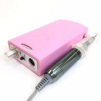 Машинка для маникюра и педикюра, ZS-218,15W до 20000обр, розовая - 601230