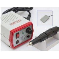 Strong 204/105L, аппарат для маникюра и педикюра,(с педалью)черная ручка,красный  - 612328
